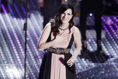 singer Laura Pausini