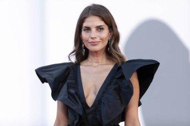 VENICE, ITALY - SEPTEMBER 12: Weronika Rosati attends the closing ceremony of the 77th Venice Film Festival on September 12, 2020 in Venice, Italy.