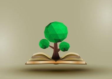 Conceptual polygonal tree.