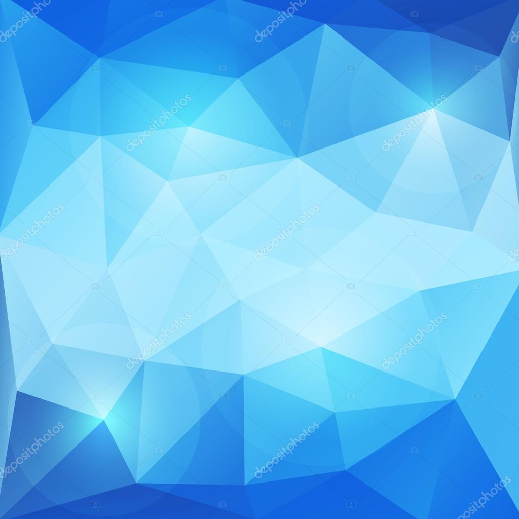 Abstractos Azules Triángulos Vector