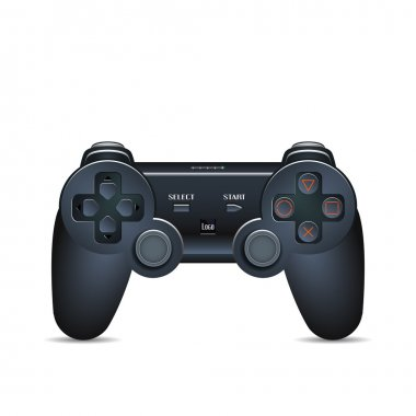 Gamepad Joystick. Joystick game console. Realistic image. Made in vector illustration stock vector