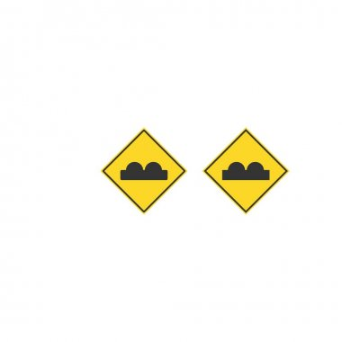 Traffic signal signs icon design template icon