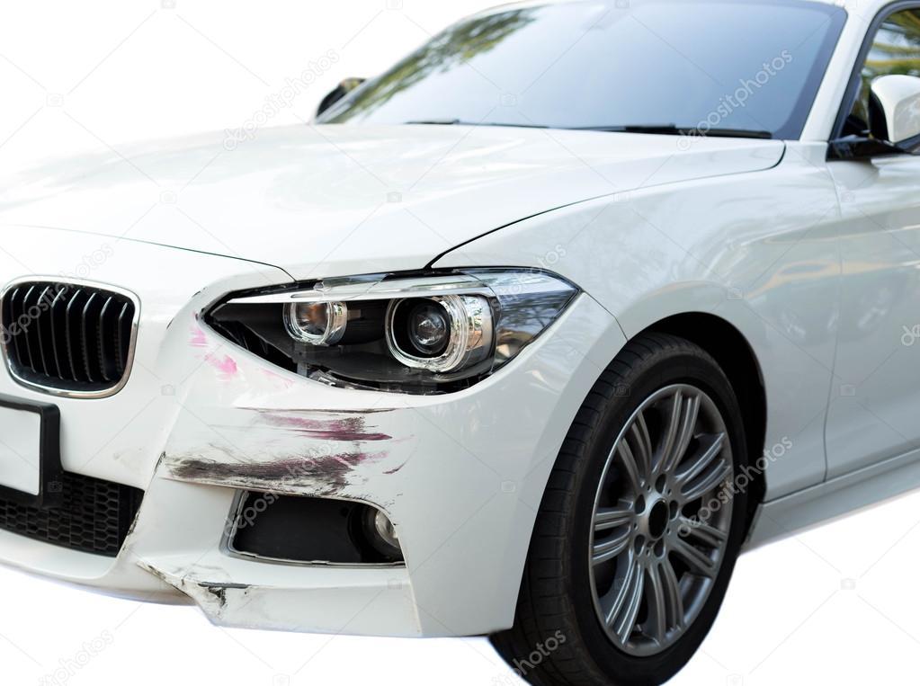 Lichte Schade Autos : Auto ongeval met hoofd lichte schade u stockfoto bignai