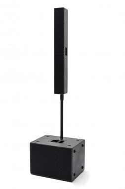 Acoustic system right side view