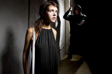 Criminal stalking a woman