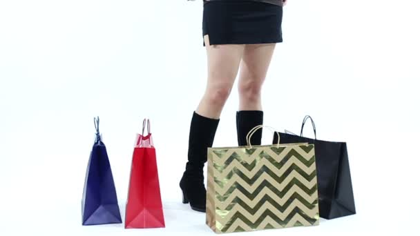 Zloděj ukradl nákupní tašky