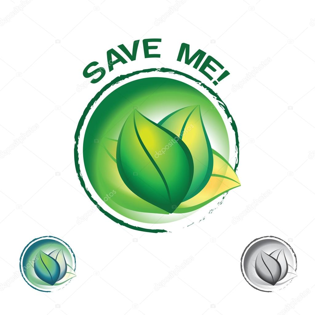 Save Our Nature And Ecology Stock Vector C Soujanya30amith 96361526