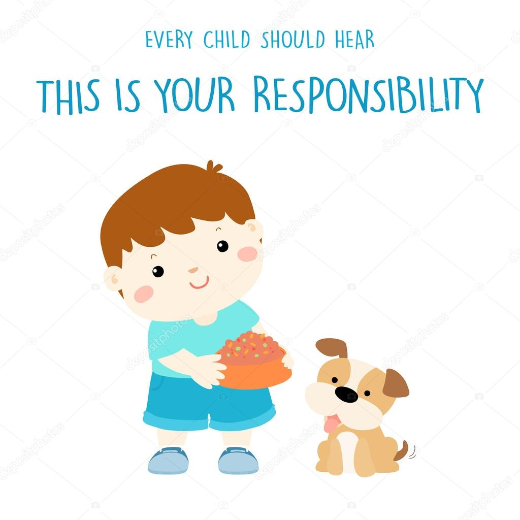 Imágenes Responsabilidad Ilustraciones Cada Niño Debe Escuchar Es