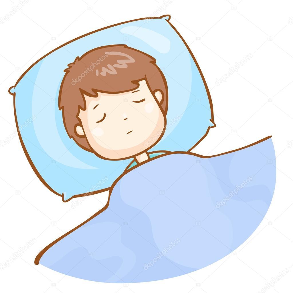 dormido dibujos animados