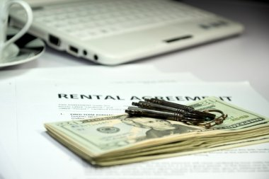 Rental agreement and money