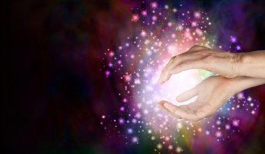 Magi sensing supernatural healing energy
