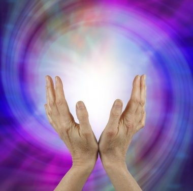 Sensing Vortex Healing Energy