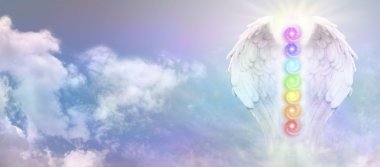 Angel Reiki Wings and Seven Chakras