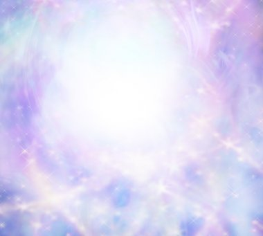 Sparkly wispy pink light burst background
