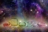 Fényképek kozmikus gyógyító kristályok