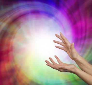 Sensing healing vortex