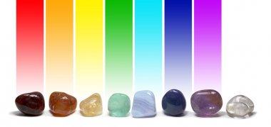 Chakra Healing Crystals Color Chart