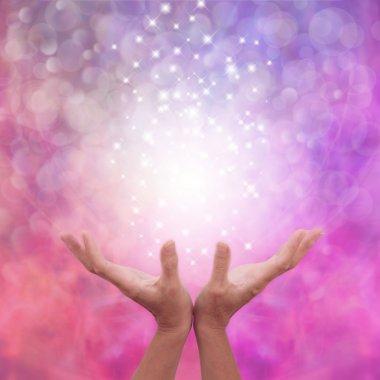 Angelic Pink Healing Energy