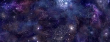 Deep Space website banner background