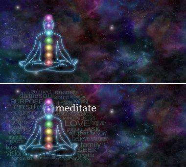 Cosmic Chakra Meditation Website Banner x 2