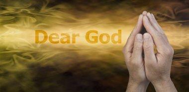 Dear God Website Banner