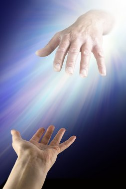 Reaching out for Divine Help