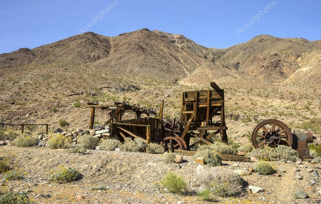 Mining sites in Death Valley — Stock Photo © SharpShooter