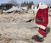 Hurikán Sandy likvidaci na vzdušné místo