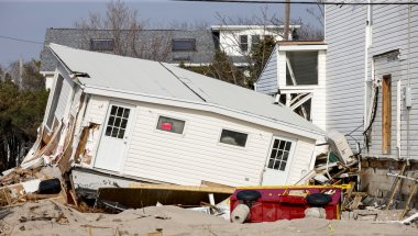 Hurricane Sandy Destruction at Breezy Point