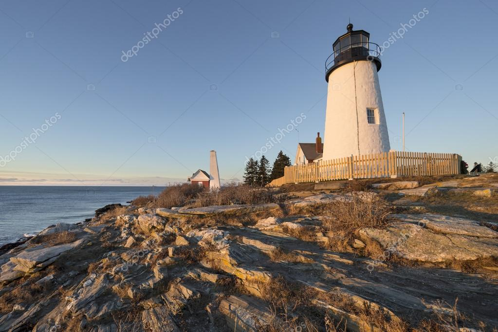 A View Of Pemaquid Point Light In Bristol, Maine, USA. U2014 Photo By  SharpShooter