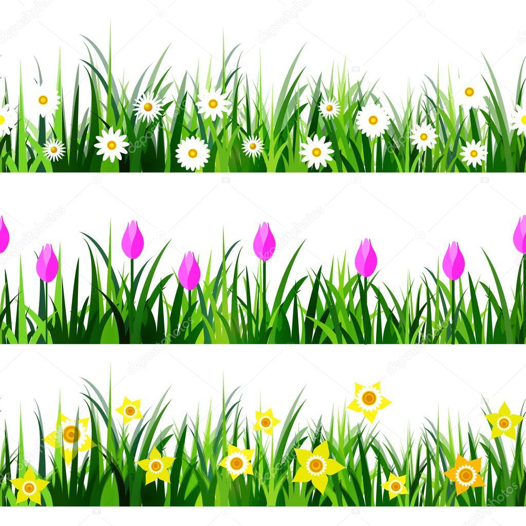 Green Grass seamless set