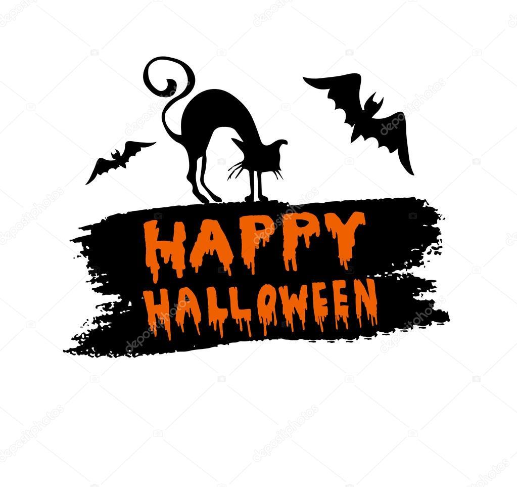 Happy Halloween Calligraphy Halloween Banner Halloween Lettering Premium Vector In Adobe Illustrator Ai Ai Format Encapsulated Postscript Eps Eps Format