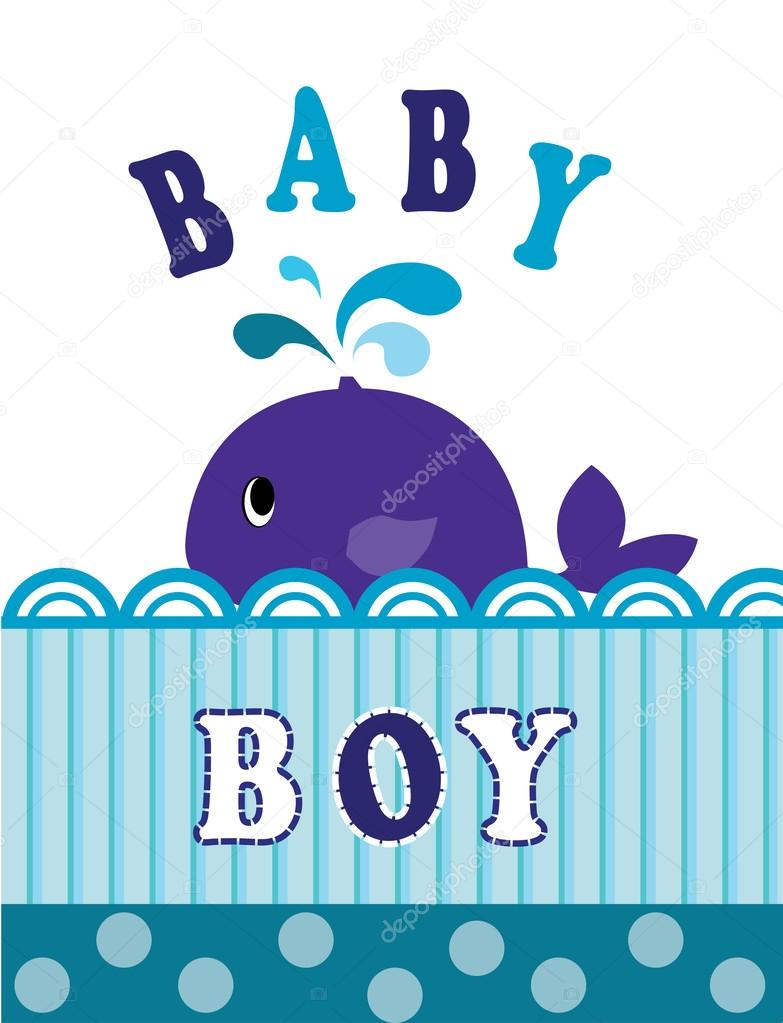 whale baby boy
