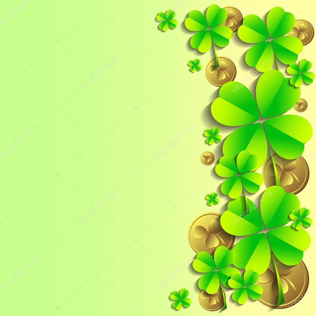 Biglietto di auguri il giorno di st patrick 17 marzo - Immagini st patrick a colori ...