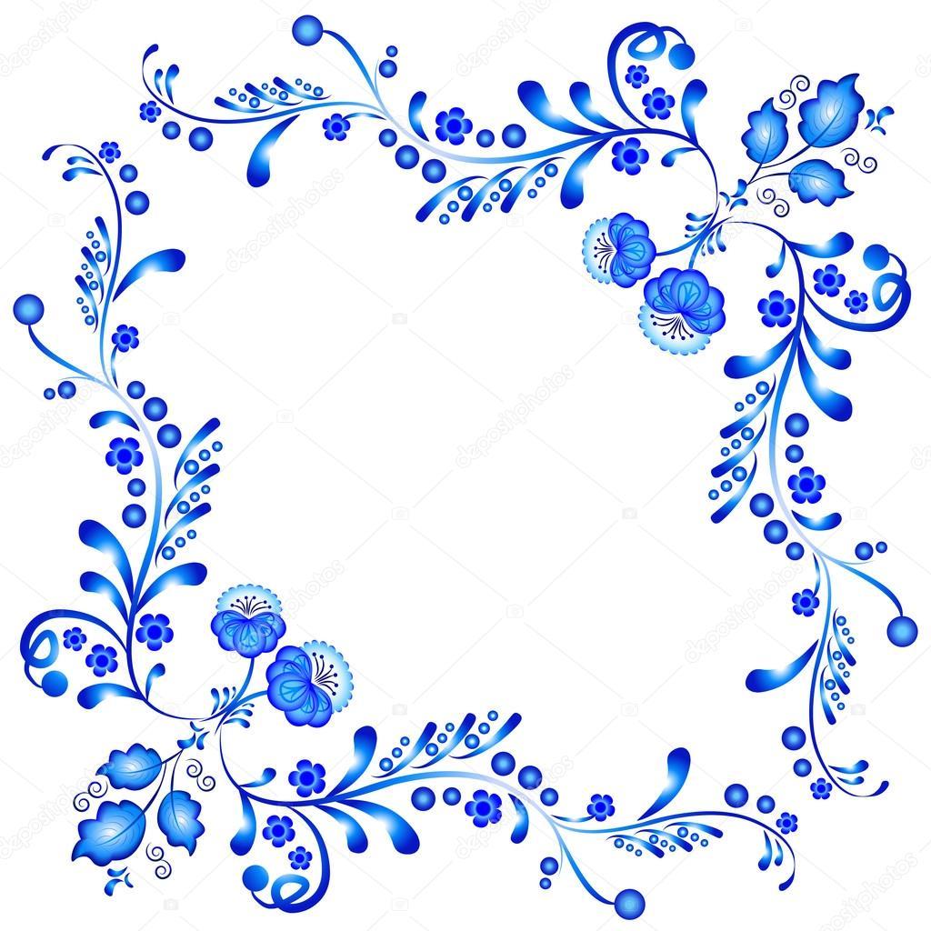 Цветы орнамент картинки
