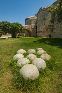 Fortifications and battlements of the medieval city, Rhodes