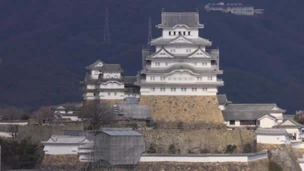 Himeji Castle - a hilltop Japanese castle complex situated in the city of Himeji