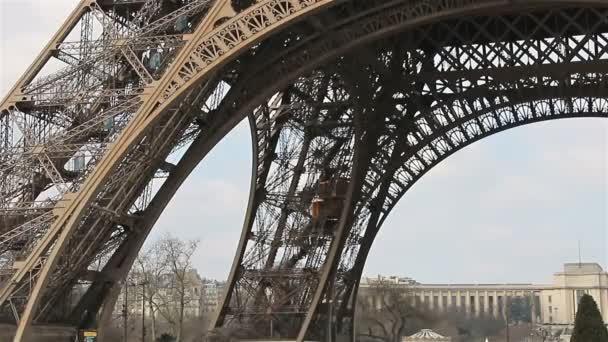 Eiffel Tower,Elevator, Paris, France, Europe.