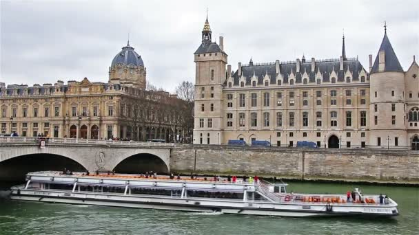 Paris - France, March 22, 2016: Pont  over Seine in Paris, french cityscape