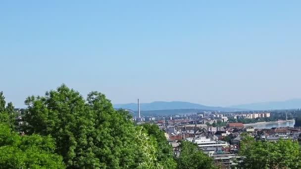 Panoráma-Budapest a Duna és az Országház, Magyarország