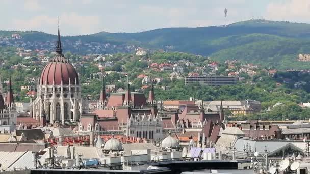 Nyáron csodálatos panoráma. Magyarország. Panoráma