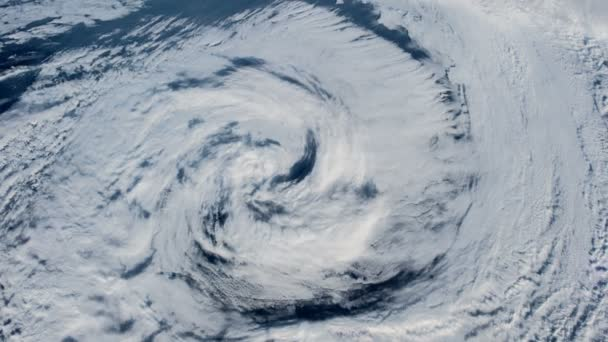 Hurricane Storm, satellite view. Elements of this image furnished by NASA