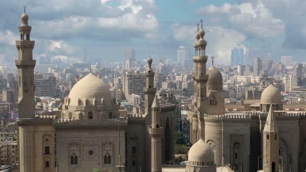 Káhira. Mraky. Egypt