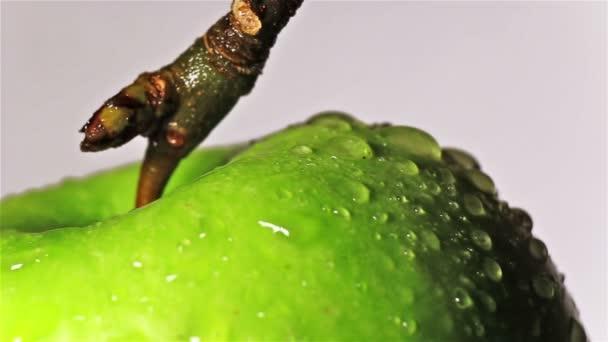 Forgó apple vízcseppek