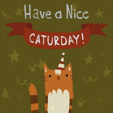 Cat's Saturday Postcard