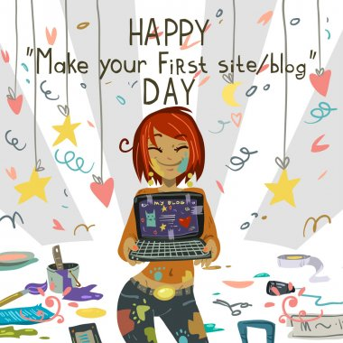 Happy Make your first site