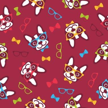 Pattern Dog hipster