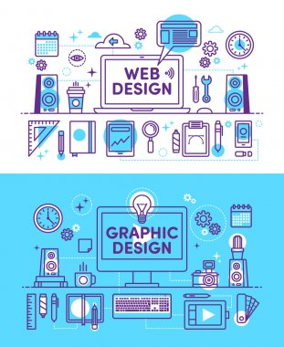 Illustration Web Design