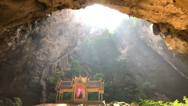 Phraya Nakhon Cave and amazing temple inside a hidden cave near Hua Hin at Prachuap Khiri Khan Thailand