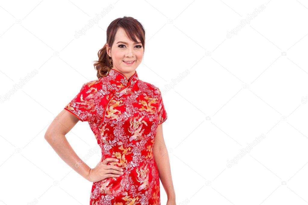 Chinesische Asiatin in traditionellem Chinesisch, Chinesisches ...